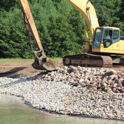 Shoreline Stabilization Cobblestone