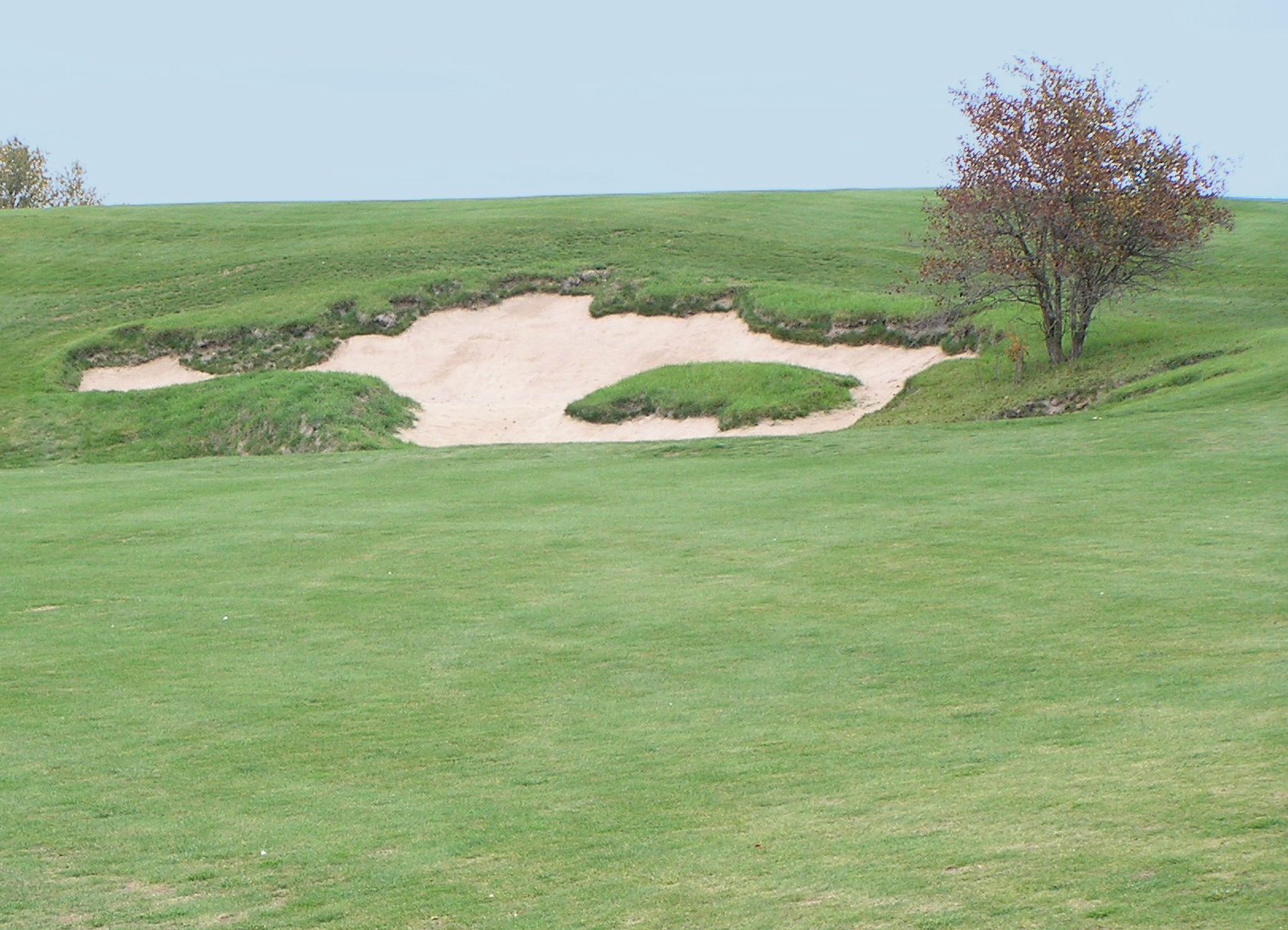 Waupaca Steep Face Bunker Sand