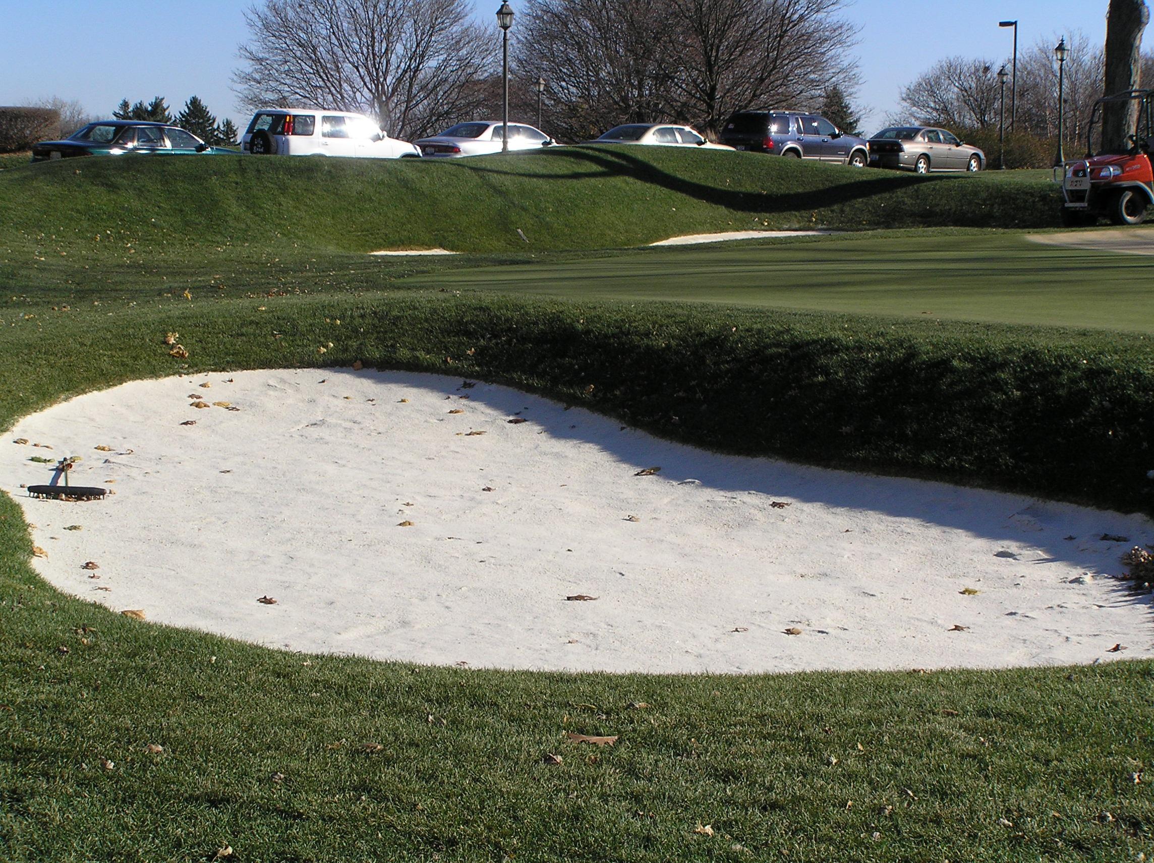 Best White Bunker Sand