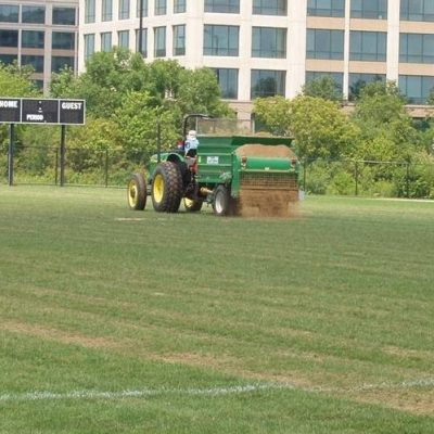 Athletic Field Topdressing Sand