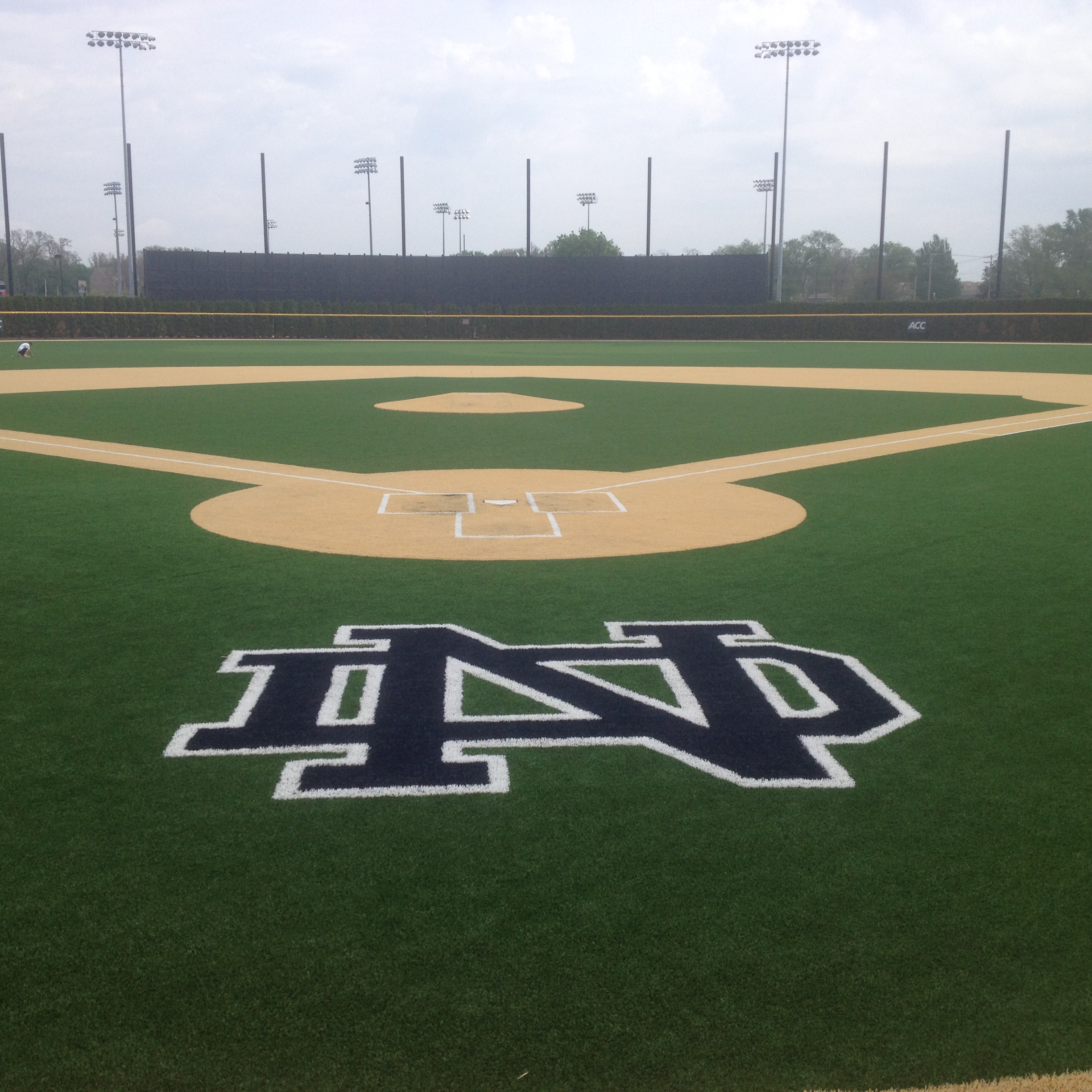 Infill Sand Artifical Turf Baseball Field